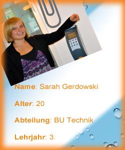 Sarah Gerdowski